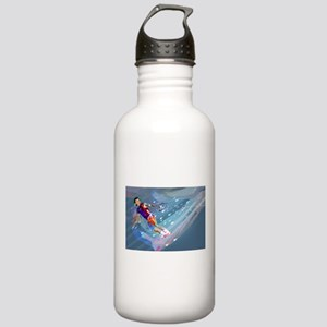 Super Crayon Colored W Stainless Water Bottle 1.0L