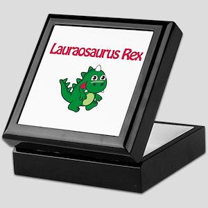 Lauraosaurus Rex Keepsake Box