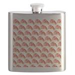 Chambered nautilus Pattern Flask