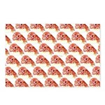 Chambered nautilus Pattern Postcards (Package of 8