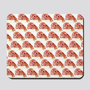 Chambered nautilus Pattern Mousepad
