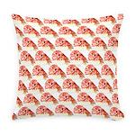 Chambered nautilus Pattern Everyday Pillow