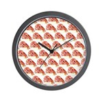 Chambered nautilus Pattern Wall Clock