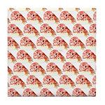 Chambered nautilus Pattern Tile Coaster