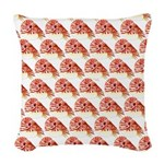 Chambered nautilus Pattern Woven Throw Pillow