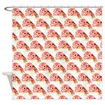 Chambered nautilus Pattern Shower Curtain