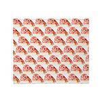 Chambered nautilus Pattern Throw Blanket
