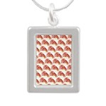 Chambered nautilus Pattern Necklaces