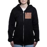 Chambered nautilus Pattern Women's Zip Hoodie