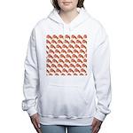Chambered nautilus Pattern Women's Hooded Sweatshi