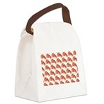 Chambered nautilus Pattern Canvas Lunch Bag
