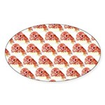 Chambered nautilus Pattern Sticker