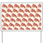 Chambered nautilus Pattern Yard Sign