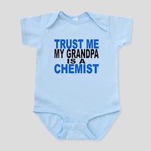 Trust Me My Grandpa Is A Chemist Body Suit
