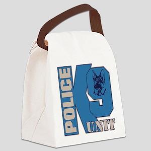 Police K9 Unit Dog Canvas Lunch Bag