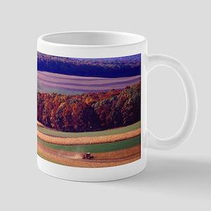 Pennsylvania Farm in Autumn Mugs