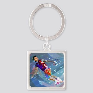 Super Crayon Colored Wakeboarding in the Keychains