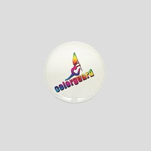 Colorful Colorguard Mini Button