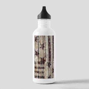 barn wood rustic Ameri Stainless Water Bottle 1.0L