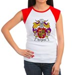 Sampaio Family Crest Women's Cap Sleeve T-Shirt