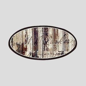 barn wood rustic Americana Patch