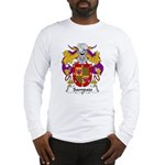 Sampaio Family Crest Long Sleeve T-Shirt