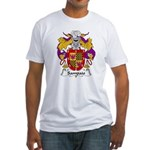 Sampaio Family Crest Fitted T-Shirt