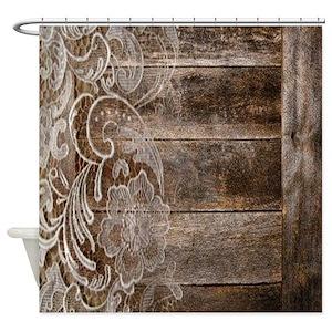Barn Shower Curtains