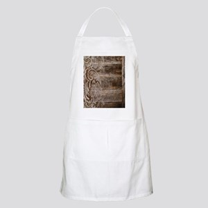 barn wood lace western country Apron