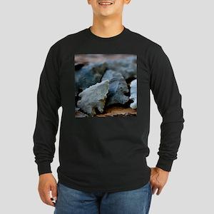 Ancient Hunters Long Sleeve Dark T-Shirt