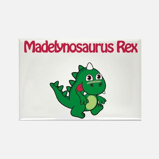 Madelynosaurus Rex Rectangle Magnet (10 pack)