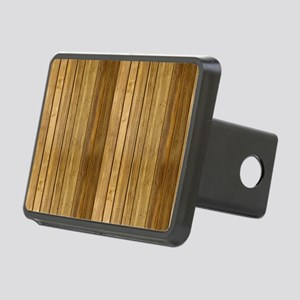 Wood texture patterns  Rectangular Hitch Cover