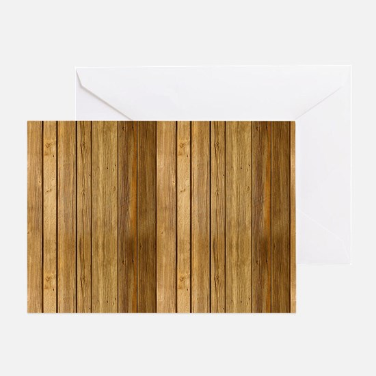 Wood texture patterns  Greeting Card