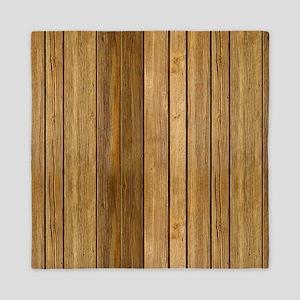 Wood texture patterns  Queen Duvet