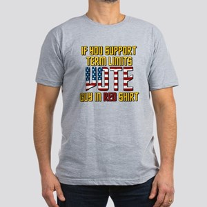 star trek vote guy in Men's Fitted T-Shirt (dark)