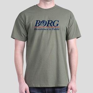 Borg Political Dark T-Shirt