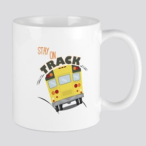 Stay On Track Mugs
