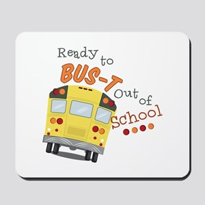Out Of School Mousepad