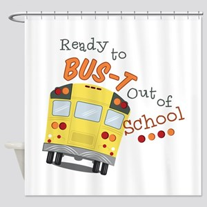 Out Of School Shower Curtain