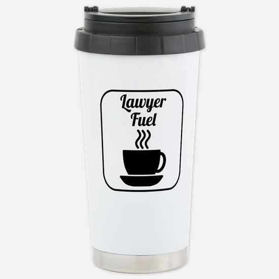 Lawyer Fuel Travel Mug