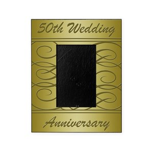 50th Wedding Anniversary Picture Frames Cafepress