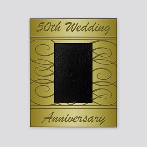 50th Wedding Anniversary Wording Picture Frames Cafepress