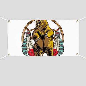 Bear Dream Catcher Banner