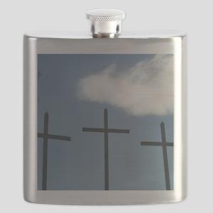 3 Crosses Flask