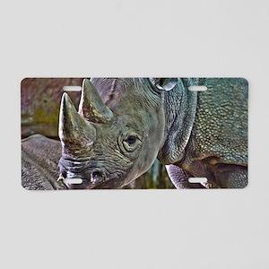 Black Rhino Aluminum License Plate
