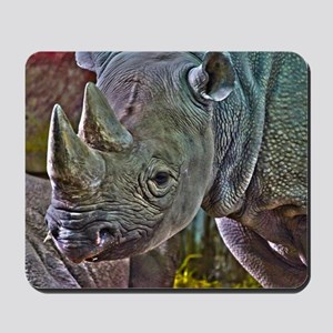 Black Rhino Mousepad