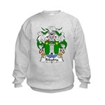 Ribafria Family Crest  Kids Sweatshirt