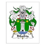 Ribafria Family Crest  Small Poster