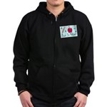 Bubble Wizardary Zip Hoodie (dark)