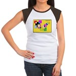 Bubble Wizardary Junior's Cap Sleeve T-Shirt